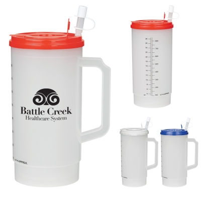 32 Oz. Medical Tumbler with Measurements
