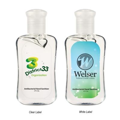 3 Oz. Hand Sanitizer Fashion Bottle