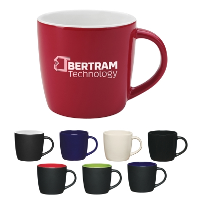 12 Oz. Café Mug - Colors/Two-Tone