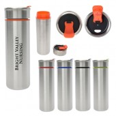 16 Oz. Claire Stainless Steel Tumbler