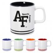 10 Oz. Lacrosse Ceramic Mug