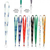 Full Color Imprint Smooth Dye-Sublimation Lanyard - 3/4