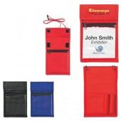 Non-Woven Neck Wallet Badge Holder