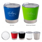 8 Oz. Toddy Stainless Steel Tumbler