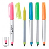Trilogy Highlighter Stylus Pen